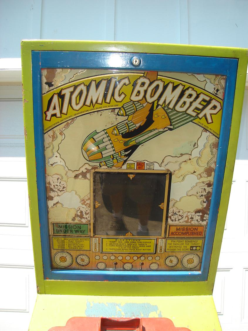 Vintage Arcade Games >> 1946 Atomic Bomber by Mutoscope